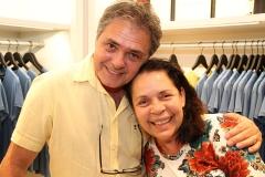Wilson Horta e Dora Andrade