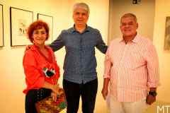 Lilia Quindere, Leonardo Leal e Carlos Juacaba