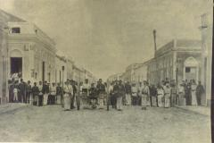 ANTES: deposição do governador Clarindo de Queiroz, em 1892. (Foto: Arquivo Nirez)