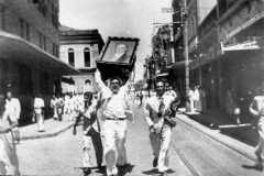 ANTES: Quebra-quebra de 1942. (Foto: Arquivo Nirez)