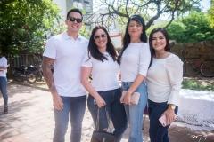 Afonso Tomoda, Graziela Veloso, Katia Vieira E Roberta Sindeaux