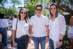 Andréa Verçosa, Ênio Mesquita E Karine Albuquerque