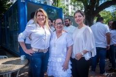 Cris Cavalcante, Nereide Figueiredo E Natália Magalhães