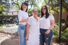 Katia Vieira, Nereide Figueiredo E Graziela Veloso