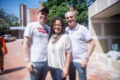 Rafaela Studart, Liana Feingold E Paulo Pepino