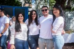 Roberta Sindeaux, Graziela Veloso, Diego Studart E Katia Vieira