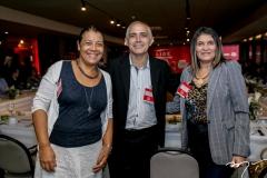 Cid Parente, Lauriberto Braga e Lúcia Ribeiro