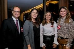 Daniel e Izabela Fiúza, Emilia Buarque e Michelinne Pinheiro