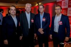 Germano Belchior, Carlos Prado, Severino Ramalho e Delano Belchior