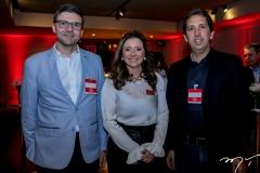 Laerte Castro Alves, Emilia Buarque e Giuliano Sales