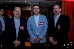 Lisandro Fujita, Laerte Castro Alves e André Pires