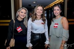 Marcela Cristina, Emilia Buarque e Aline Ferreira