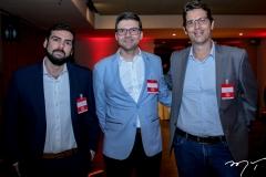 Raphael Araújo, Laerte Castro Alves e Maurício Garcia