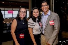 Vânia Marcelo, Maria Rabelo e Bruno Guedes