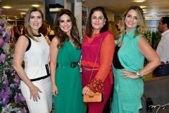 Carla Pereira, Eveline Fujita, Celina Fiuza e Thais Pinto