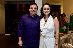 Fernando Ferrer e Adriana Miranda