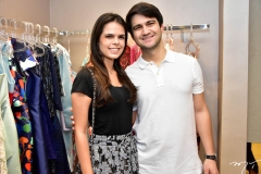 Isabel Miranda e Pedro Matos