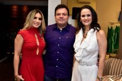 Jacque Maia, Fernando Ferrer e Adriana Miranda