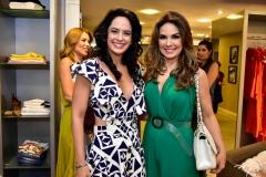 Luciana Fiuza  e Eveline Fujita