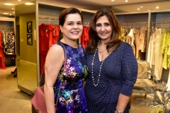 Marcia Oliveira e Simone Jereissati