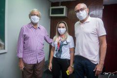 Leonidas Belém, Wládia Andrade e Rodrigues Junior