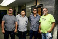 Fernando Carelli, Gildison Marcillon,  Fernando Julio Silveira e Zakira