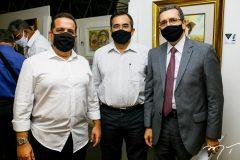 Germano Belchior, Jardson Cruz e Gladysson Mota