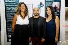 Luciana Castro, Assis Filho e Amanda Lopes