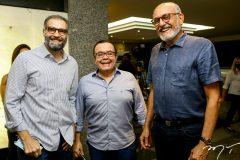 Luiz Eduardo Figueiredo, Alessandro Belchior e Rodrigues Junior