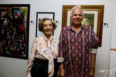 Maria José Arruda e Olivio Feitosa