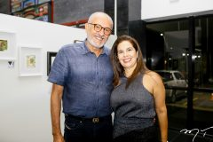 Rodrigues Junior e Gena Campos