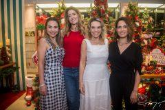 Adriana Queiroz, Rebeca Leal, Lilian Porto e Marília Queiroz
