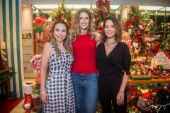 Adriana Queiroz, Rebeca Leal e Marília Queiroz