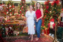 Márcia Andréa e Rebeca Leal