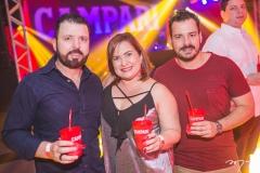 César Martins, Briane de Castro e Miguel Filho