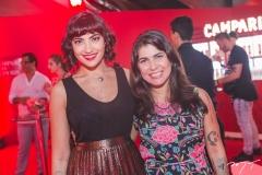 Clara Dourado e Lia Baquit