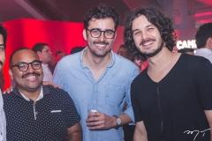 Darlison Azevedo, Dan Barroso e Levi Castelo Branco