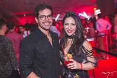 Garcez Neto e Amanda Arruda