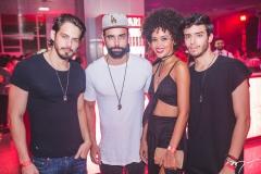 Ilan Negreiros, Ramony Farias, Melaine Araújo e Ygor Marques