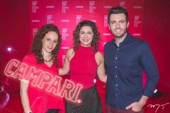 Lilian Benjamin, Marina Santos e Guilherme Melo