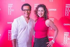 Luiz Martins e Marina Santos