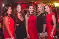 Mônica Pinto, Camila Van-Der Linden, Lívia Baral, Taís Lopes e Monique Cortez