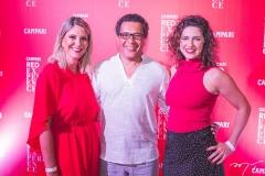 Silvana Torres, Luiz Martins e Marina Santos