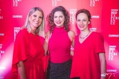 Silvana Torres, Marina Santos e Lilian Benjamin