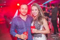 Thiago Braga e Louise Marllan
