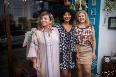 Cândida Lopes, Silvania de Deus e Telma Aguiar