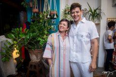 Cândida Lopes e Ivens Andrade