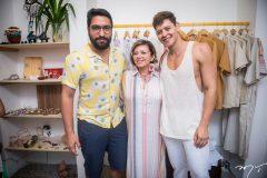 Marx Costa, Cândida Lopes e Ivens Andrade