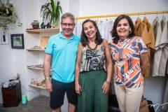 Valério Carvalho, Ana Lúcia e Silvana Soares