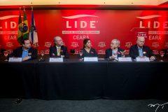 Igor Queiroz Barroso, Cândido Albuquerque, Emilia Buarque, Raimundo Padilha e Lauro Fiuza